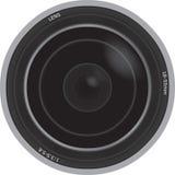 Ilustração de uma lente de câmera Imagens de Stock