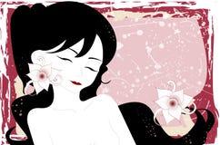 ilustração de uma mulher Imagem de Stock Royalty Free