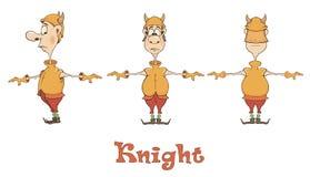 Ilustração de uns desenhos animados viquingue Fotografia de Stock Royalty Free
