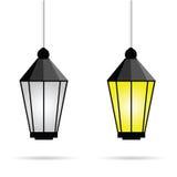 Ilustração de vidro da arte da luz de rua Foto de Stock Royalty Free