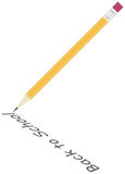 Ilustração detalhada do lápis Fotografia de Stock Royalty Free