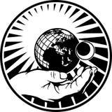 Ilustração disponivel do vetor do sistema solar Imagens de Stock Royalty Free