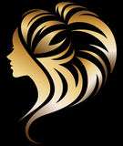 Ilustração do ícone da silhueta das mulheres ilustração stock