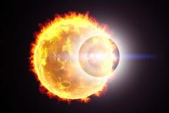 Ilustração do alargamento solar Imagens de Stock