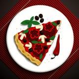 Ilustração do alimento Imagens de Stock