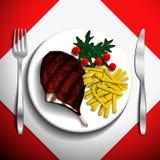 Ilustração do alimento Ilustração Royalty Free