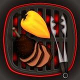 Ilustração do alimento Ilustração Stock