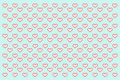 Ilustração do amor Foto de Stock