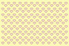 Ilustração do amor Fotos de Stock