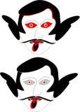 ilustração do amor do teste do fantasma Fotos de Stock