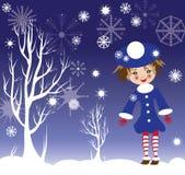 Ilustração do ano novo do miúdo Fotos de Stock