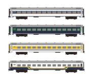 Ilustração do automóvel de passageiros da classe executiva Imagem de Stock
