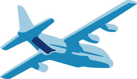 Ilustração do avião Fotos de Stock Royalty Free
