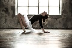 Ilustração do bailado dancer fotografia de stock royalty free