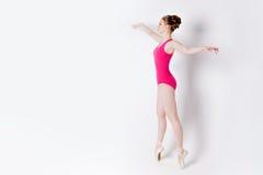 Ilustração do bailado dancer fotografia de stock