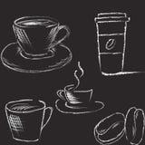 Ilustração do café do vetor ilustração royalty free