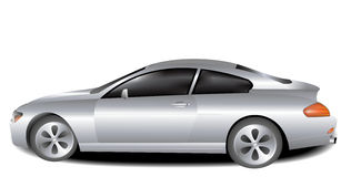 Ilustração do carro de BMW Imagem de Stock