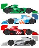 Ilustração do carro de fórmula ilustração stock