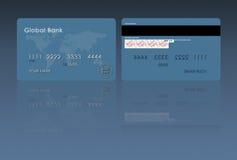 Ilustração do cartão de crédito Fotos de Stock Royalty Free