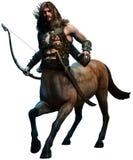 Ilustração do centauro 3D Fotos de Stock