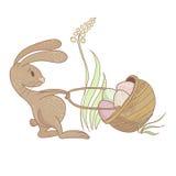 Ilustração do coelho da Páscoa Ilustração Royalty Free