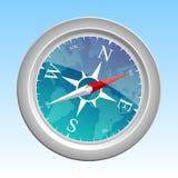 Ilustração do compasso Fotografia de Stock Royalty Free