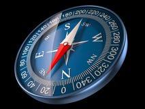 Ilustração do compasso 3D Fotografia de Stock