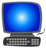 Ilustração do computador Foto de Stock