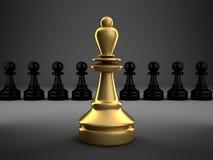 Ilustração do conceito da liderança ilustração royalty free