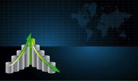 Ilustração do conceito do fundo do negócio Imagem de Stock Royalty Free