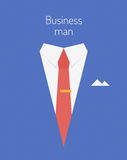 Ilustração do conceito do líder de negócio Foto de Stock