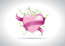 Ilustração do coração ilustração stock