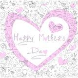 Ilustração do coração cor-de-rosa Foto de Stock Royalty Free