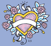 Ilustração do coração do amor Imagem de Stock Royalty Free