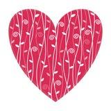 Ilustração do coração do Valentim Imagens de Stock Royalty Free