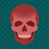 Ilustração do crânio do sangue do vetor ilustração stock