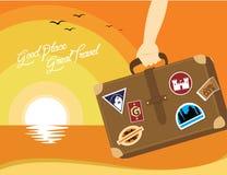 Ilustração do curso dos bons lugares grande em todo o mundo Fotografia de Stock Royalty Free