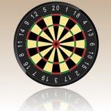 Ilustração do Dartboard Imagens de Stock Royalty Free