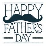 Ilustração do dia de pai Imagens de Stock