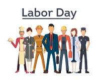 Ilustração do Dia do Trabalhador ilustração do vetor