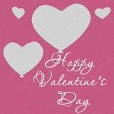 Ilustração do dia do Valentim Dia do amor Fotografia de Stock