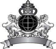Ilustração do emblema Fotografia de Stock