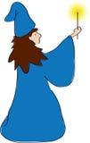 Ilustração do feiticeiro Foto de Stock Royalty Free