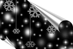 Ilustração do Feliz Natal, ano novo feliz Fotos de Stock