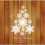 Ilustração do Feliz Natal e do ano novo feliz Fotografia de Stock Royalty Free