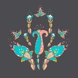 Ilustração do flover do vetor Fotografia de Stock Royalty Free