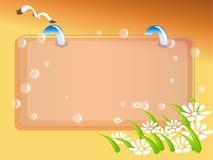 Ilustração do frame Ilustração do Vetor