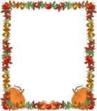 Ilustração do frame da beira da queda Imagens de Stock Royalty Free