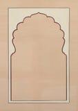 Ilustração do frame de retrato Fotografia de Stock