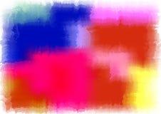 Ilustração do fundo da cor de água Fotografia de Stock